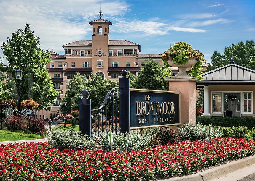 The Broadmoor Resort Hotel, Colorado Springs, Colorado, USA