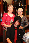Cian Cowley with his two grannies Breda Levina and Marie Cowley at his 21st Birthday Party in The Thatch.<br /> Picture: Shane Maguire / www.newsfile.ie