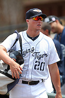 Lakeland Flying Tigers catcher James McCann #20 before a game against the Daytona Cubs at Joker Marchant Stadium on April 29, 2012 in Lakeland, Florida.  Lakeland defeated Daytona 6-4.  (Mike Janes/Four Seam Images)
