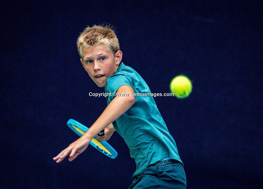 Hilversum, Netherlands, Juli 31, 2019, Tulip Tennis center, National Junior Tennis Championships 12 and 14 years, NJK, Boys Doubles:<br /> Photo: Tennisimages/Henk Koster