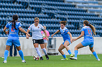 Bridgeview, IL - Sunday June 25, 2017: Madison Tiernan during a regular season National Women's Soccer League (NWSL) match between the Chicago Red Stars and Sky Blue FC at Toyota Park. The Red Stars won 2-1.