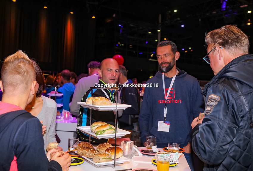 Nieuwegein,  Netherlands, 9 November 2018, Coaches congress KNLTB, lunch<br /> Photo: Tennisimages.com/Henk Koster