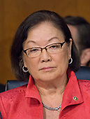 """United States Senator Mazie Hirono (Democrat of Hawaii) listens to testimony before the US Senate Committee on the Judiciary Subcommittee on Crime and Terrorism hearing titled """"Russian Interference in the 2016 United States Election"""" on Capitol Hill in Washington, DC on Monday, May 8, 2017.<br /> Credit: Ron Sachs / CNP<br /> (RESTRICTION: NO New York or New Jersey Newspapers or newspapers within a 75 mile radius of New York City)"""