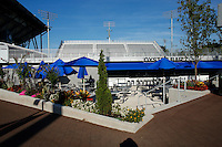 NEW YORK, NY AUG 27: The new Oyster bar next to the Grandstand stadium is seen empty at the USTA Billie Jean King National Tennis Center in Flushing Meadows, on August 27, 2016 in New York City. (Photo by VIEWpress)