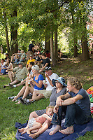 Food Truck Rodeo in Central Park in Durham, N.C. on Sunday, June 15, 2014. (Justin Cook)