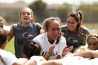 SAN ANTONIO, TX - OCTOBER 4, 2015: The Western Kentucky University Hilltoppers defeat the University of Texas at San Antonio Roadrunners 1-0 at the UTSA Park West Athletics Complex. (Photo by Jeff Huehn)