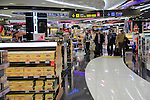 Duty Free shopping at Adolfo Suárez Madrid–Barajas airport, Madrid, Spain