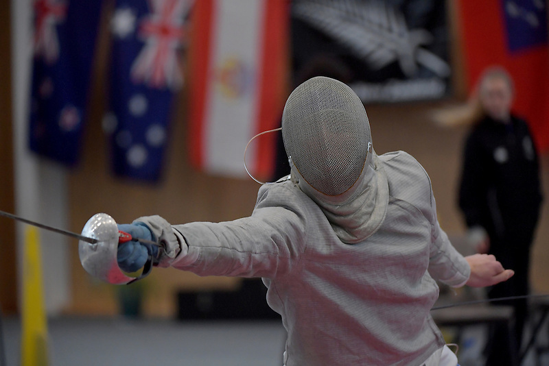 Oceania & New Zealand U20 Fencing Championships at Walter Nash Centre, Lowe Hutt, New Zealand on Sunday 2 October 2016.<br /> Photo by Masanori Udagawa. <br /> www.photowellington.photoshelter.com.