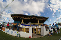 General view during the Friendly match between Basingstoke Town and Wycombe Wanderers at The Camrose, Basingstoke, England on 28 July 2015. Photo by Andy Rowland.