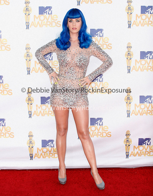 Katy Perry at the 2010 MTV Movie Awards held at The Gibson Ampitheatre in Universal City, California on June 06,2010                                                                               © 2010 Debbie VanStory / Hollywood Press Agency
