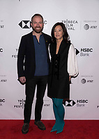 "NEW YORK CITY - APRIL 22: Neil Gelinas and Clara Wu Tsai attend National Geographic's ""Into The Okavango"" Screening at Tribeca Film Festival at Tribeca Festival Hub on April 22, 2018 in New York City. (Photo by Anthony Behar/National Geographic/PictureGroup)"