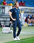 Interimstrainer Matthias Kaltenbach (Hoffenheim).<br /> <br /> Sport: Fussball: 1. Bundesliga: Saison 19/20: 31. Spieltag: TSG 1899 Hoffenheim - RB Leipzig, 12.06.2020<br /> <br /> Foto: Markus Gilliar/GES/POOL/PIX-Sportfotos