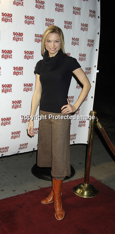 Nicole Forrester ..at the 30th Anniversary Party for Soap Opera Digest on ..November 17, 2005 at PM Lounge. ..Photo by Robin Platzer, Twin Images
