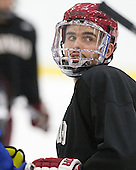 - The Harvard University Crimson practiced on Friday, October 22, 2013, at Bright-Landry Hockey Center in Cambridge, Massachusetts.