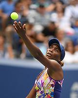 FLUSHING NY- SEPTEMBER 05: Venus Williams Vs Pliskova on Arthur Ashe Stadium at the USTA Billie Jean King National Tennis Center on September 5, 2016 in Flushing Queens. Credit: mpi04/MediaPunch
