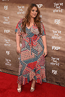 "LOS ANGELES, CA - APRIL 3: Kether Donohue attends the FYC Red Carpet event for the series finale of FX's ""You're the Worst"" at Regal Cinemas L.A. Live on April 3, 2019 in Los Angeles, California. (Photo by Frank Micelotta/FX/PictureGroup)"