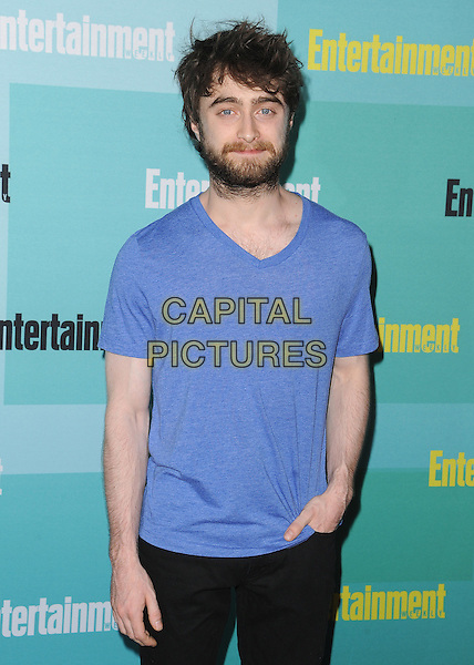 SAN DIEGO, CA - JULY 11:  Daniel Radcliffe at the 2015 Entertainment Comic-Con Party at Float at Hard Rock Hotel on July 11, 2015 in San Diego, California.