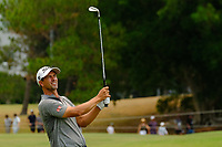 Adam Scott (AUS) on the 3rd fairway during round 4 of the Australian PGA Championship at  RACV Royal Pines Resort, Gold Coast, Queensland, Australia. 22/12/2019.<br /> Picture TJ Caffrey / Golffile.ie<br /> <br /> All photo usage must carry mandatory copyright credit (© Golffile   TJ Caffrey)