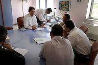 Egypte, Cairo, 5 mei 2007..Sekem hoofdkantoor te Cairo.Sekem headoffice.Helmy Abouleish.. Foto (c) Michiel Wijnbergh.