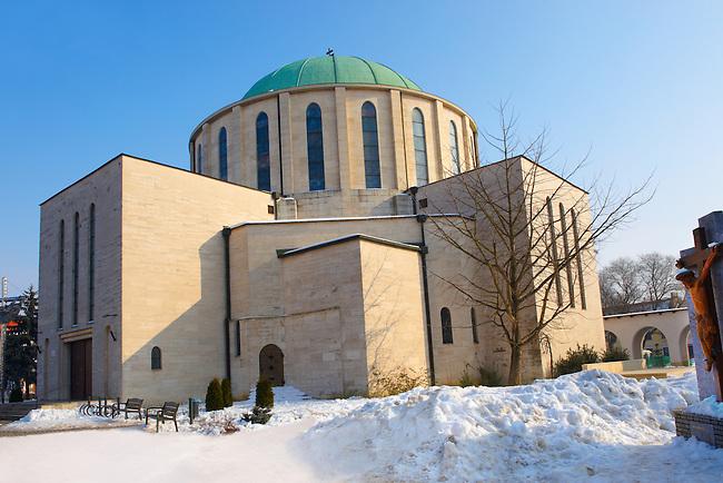 The Votive church, Mohács, Széchenyi tér - Hungary