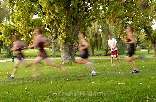 Murray Invitation cross-country meet at Murray Park.<br />