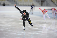 SPEEDSKATING: SOCHI: Adler Arena, 19-03-2013, Training, Ronald  Mulder (NED), © Martin de Jong