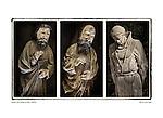 Triptych, San Francisco de Asís (Mission Dolores) by Larry Angier.
