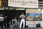 Flashback plays at the 2008 Cantaloupe  Festival.  Photo by Tom Smedes.