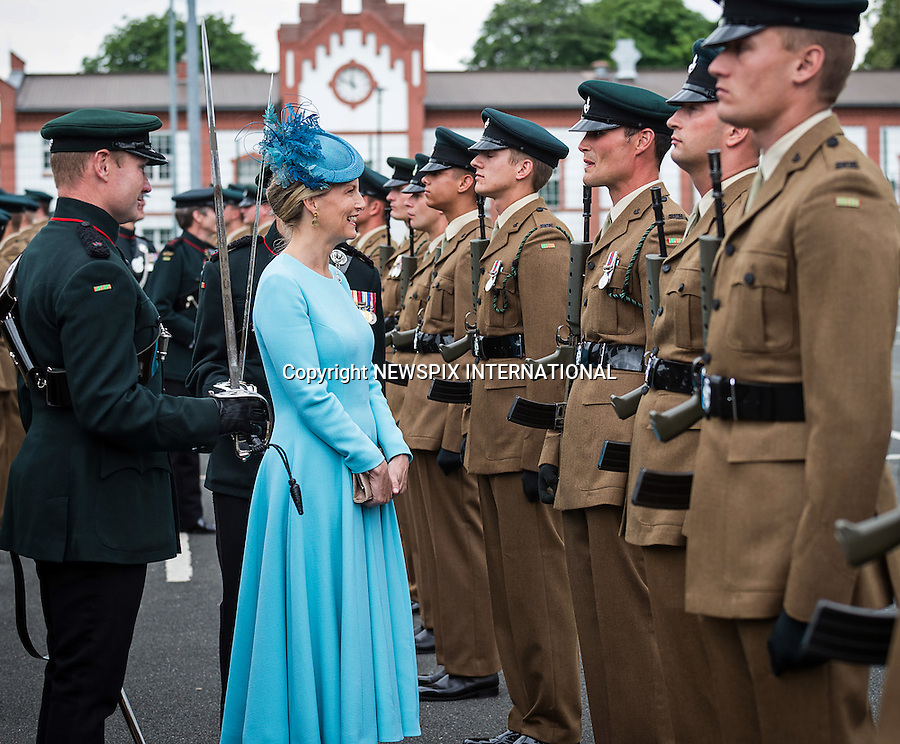01.07.2016; Paderborn, Germany: SOPHIE, COUNTESS OF WESSEX<br />
