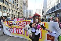 - Milano, 8 marzo 2017, sciopero mondiale delle donne, manifestazione &quot;Non una di meno&quot; <br /> <br /> - Milan, March 8, 2017,  worldwide women strike, demonstration &quot;Not one less&quot;