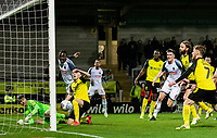 Bolton Wanderers' Ryan Delaney (3rd right) looks on as his header crosses the line for his side's first goal<br /> <br /> Photographer Andrew Kearns/CameraSport<br /> <br /> The Premier League - Leicester City v Aston Villa - Monday 9th March 2020 - King Power Stadium - Leicester<br /> <br /> World Copyright © 2020 CameraSport. All rights reserved. 43 Linden Ave. Countesthorpe. Leicester. England. LE8 5PG - Tel: +44 (0) 116 277 4147 - admin@camerasport.com - www.camerasport.com