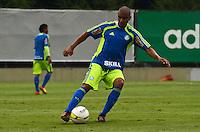 SÃO PAULO, SP, 31 DE JANEIRO DE 2012 - TREINO PALMEIRAS -  Mauricio Ramos durante treino do Palmeiras no CT do clube, na Barra Funda, zona oeste de Sao Paulo, na tarde desta terça-feira 31. FOTO: ALEXANDRE MOREIRA - NEWS FREE.