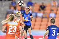 Houston, TX - Sunday August 13, 2017: Shea Groom during a regular season National Women's Soccer League (NWSL) match between the Houston Dash and FC Kansas City at BBVA Compass Stadium.
