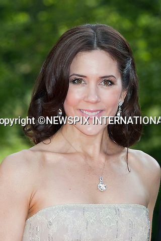 "CROWN PRINCESS MARY.Pre-Wedding Dinner hosted by the Government of Sweden in honour of H.R.H Crown Princess Victoria and Mr Daniel Westling at Eric Ericsonhallen was attended by Royalty from all over the world. Stockholm_18/06/2010..Mandatory Photo Credit: ©Dias/Newspix International..**ALL FEES PAYABLE TO: ""NEWSPIX INTERNATIONAL""**..PHOTO CREDIT MANDATORY!!: NEWSPIX INTERNATIONAL(Failure to credit will incur a surcharge of 100% of reproduction fees)..IMMEDIATE CONFIRMATION OF USAGE REQUIRED:.Newspix International, 31 Chinnery Hill, Bishop's Stortford, ENGLAND CM23 3PS.Tel:+441279 324672  ; Fax: +441279656877.Mobile:  0777568 1153.e-mail: info@newspixinternational.co.uk"