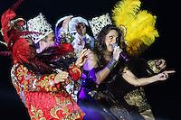 Veracruz, Veracruz, México .- Concierto de Mariana Seoane en el Carnaval de Veracruz.<br /> 7 febrero del 2013.<br /> (©KoralCarballo/NortePhoto)