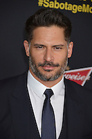 Joe Manganiello at the premiere of his movie &quot;Sabotage&quot; at Regal Cinemas L.A. Live.<br /> March 19, 2014  Los Angeles, CA<br /> Picture: Paul Smith / Featureflash