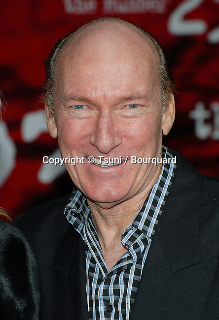 Ed Lauter arriving at the he NUMBER 23 Premiere at the Orpheum Theatre In Los Angeles.<br /> <br /> headshot<br /> eye contact<br /> smile