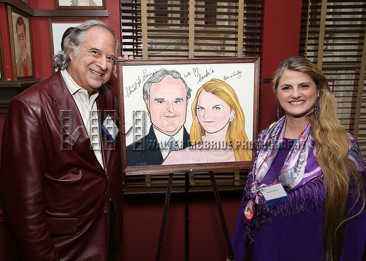 attends the UMass Lowel Cockail Party for 'Sunset Boulevard' hosted by Chancellor Jacquie Moloney, Bonnie Comley and Stewart F. Lane at Sardi's on April 5, 2017 in New York City