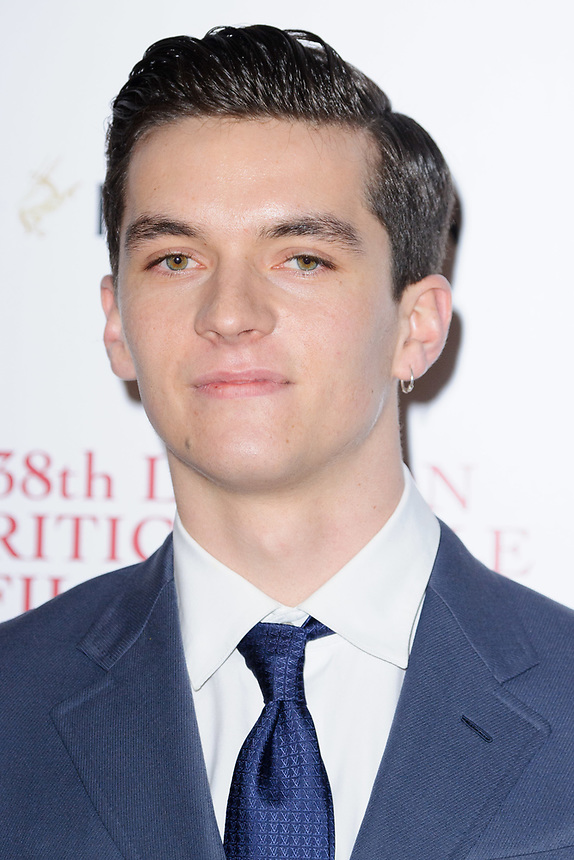 Fionn Whitehead<br /> arriving for the Critic's Circle Film Awards 2018, Mayfair Hotel, London<br /> <br /> <br /> ©Ash Knotek  D3374  28/01/2018