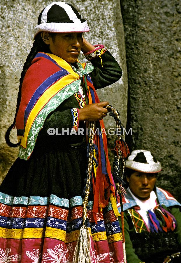 Festa do sol, Inti Raimi em Cuzco. Peru. 06. 1994. Foto de Juca Martins.