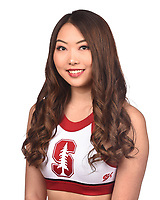 Stanford, Ca - October 3, 2019: The 2019-2020 Stanford Cardinal Cheerleading Team.