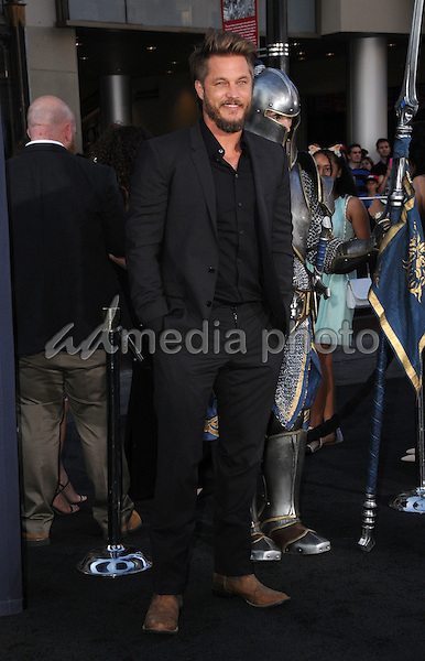 "06 June 2016 - Hollywood, California - Travis Fimmel. Arrivals for the Premiere Of Legendary Pictures and Universal Pictures' ""Warcraft"" held at the TCL Chinese Theater IMAX. Photo Credit: Birdie Thompson/AdMedia"