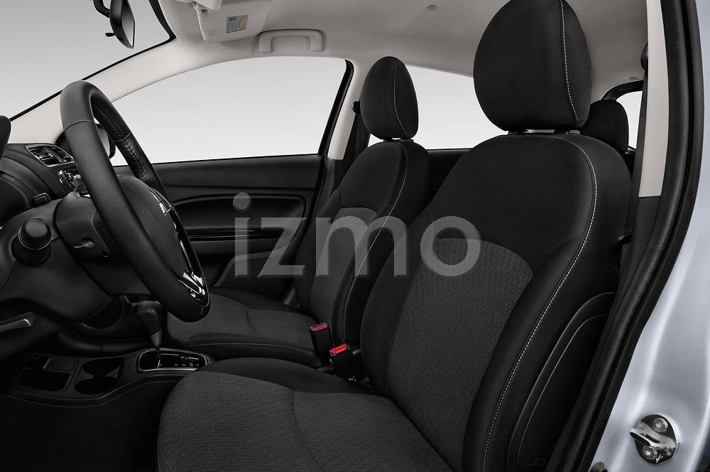 Front seat view of 2018 Mitsubishi Mirage SE 5 Door Hatchback Front Seat  car photos
