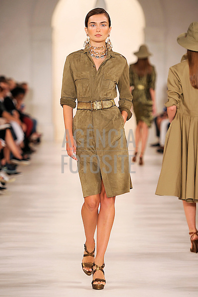 Nova Iorque, EUA &sbquo;09/2014 - Desfile de Ralph Lauren durante a Semana de moda de Nova Iorque  -  Verao 2015. <br /> <br /> Foto: FOTOSITE