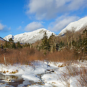2019 White Mountains New Hampshire calendar: This photo of Eagle Cliff from along the Pemi Trail in Franconia Notch, New Hampshire represents March in the 2019 White Mountains New Hampshire calendar. Purchase a copy of the calendar here: http://bit.ly/2GPQ9q3