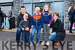 Enjoying Horgans Centra Ardfert Family Fun day on Sunday were Robert, Breeda, Aiobhinn, Donagh and Emaon Flaherty