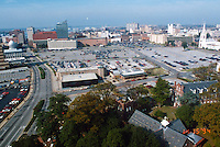 1994 November 15..Redevelopment..Macarthur Center.Downtown North (R-8)..VIEW FROM SCHOOL ADMINISTRATION BUILDING...NEG#.NRHA#..