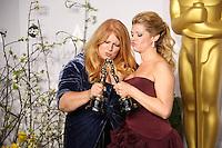 Adruitha Lee, Robin Matthews<br /> at the 86th Annual Academy Awards Press Room, Hollywood & Highland, Hollywood, CA 03-02-14<br /> David Edwards/DailyCeleb.com 818-249-4998