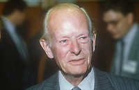 Sir Angus Maude, MP, Conservative Party, UK, at annual conference, October, 1982, 198210000472AM<br /><br />Copyright Image from Victor Patterson, 54 Dorchester Park, <br />Belfast, UK, BT9 6RJ<br /><br />t1: +44 28 9066 1296 (from Rep of Ireland 048 9066 1296)<br />t2: +44 28 9002 2446 (from Rep of Ireland 048 9002 2446)<br />m: +44 7802 353836<br /><br />victorpatterson@me.com<br />victorpattersonbelfast@gmail.com<br /><br />Please see my Terms and Conditions of Use at victorpatterson.com. It is IMPORTANT that you familiarise yourself with them.<br /><br />Images used on the Internet incur an additional cost and must be visibly watermarked i.e. &copy;Victor Patterson within the body of the image and copyright metadata must not be deleted. Images used on the Internet have a size restriction of 4kbs and are chargeable at rates available at victorpatterson.com.<br /><br />This image is available only for the use of the download recipient i.e. television station, newspaper, magazine, book publisher, etc, and must not be passed on to any third party. It is also downloaded on condition that each and every usage is notified within 7 days to victorpatterson@me.com<br /><br />The right of Victor Patterson (or the named photographer) to be identified as the author is asserted in accordance with The Copyright Designs And Patents Act (1988). All moral rights are asserted.