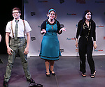 Will Roland, Jennifer Simard and Stephanie D'Abruzzo and from 'Academia Nuts'<br /> at a special preview of the 2014 New York Musical Theatre Festival (NYMF) at Ford Foundation Studio Theatre in The Pershing Square Signature Center on July 2, 2014 in New York City.